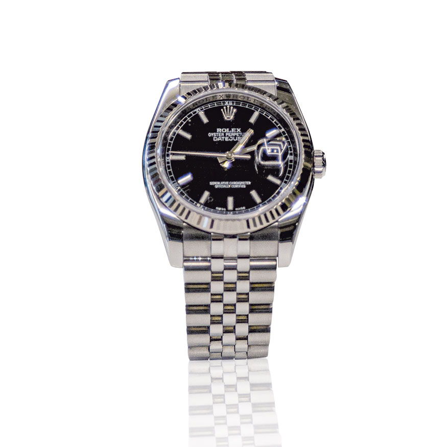 Rolex Datejust usato, secondo polso