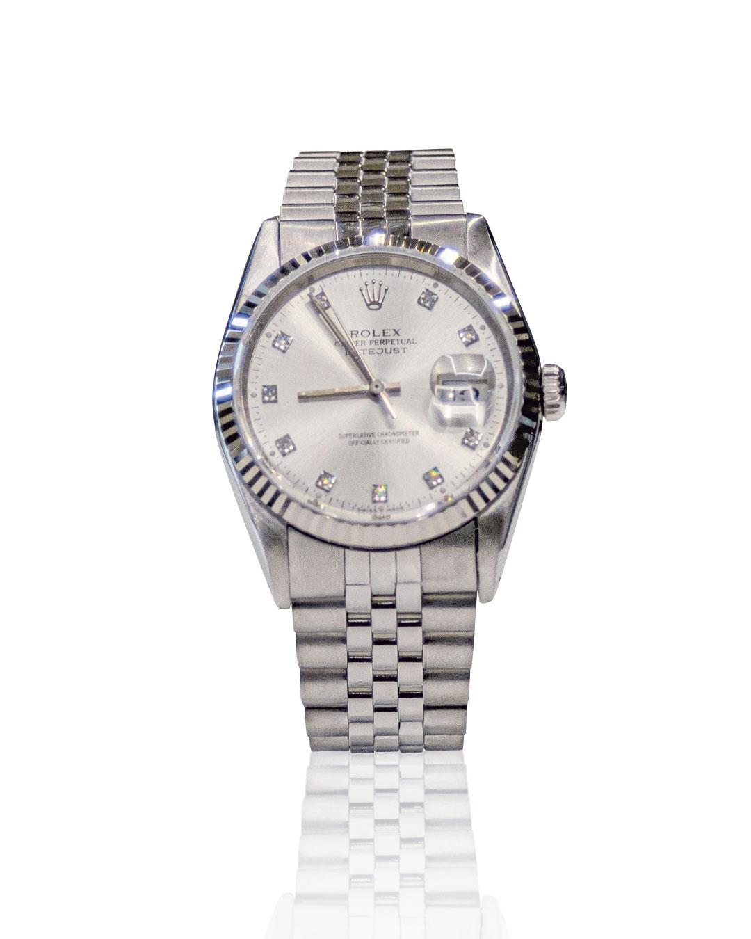 Rolex Datejust 31 usato, secondo polso
