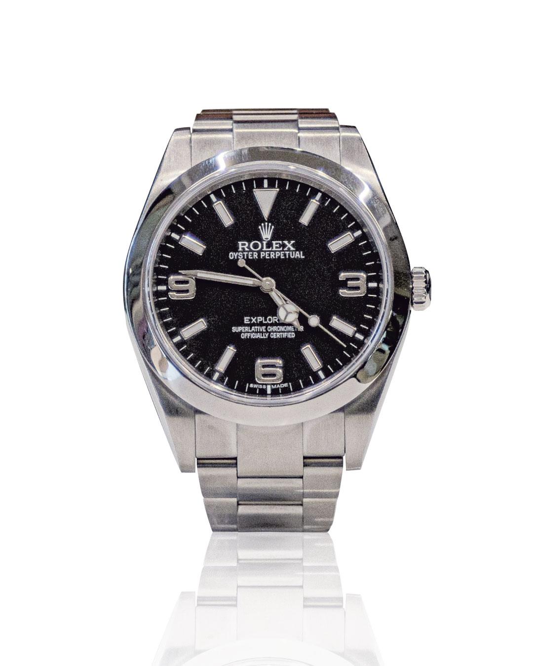 Rolex Explorer secondo polso, usato