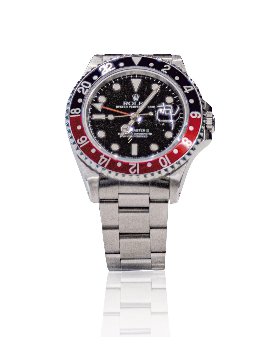 Rolex GMT-Master II (rosso e blu)