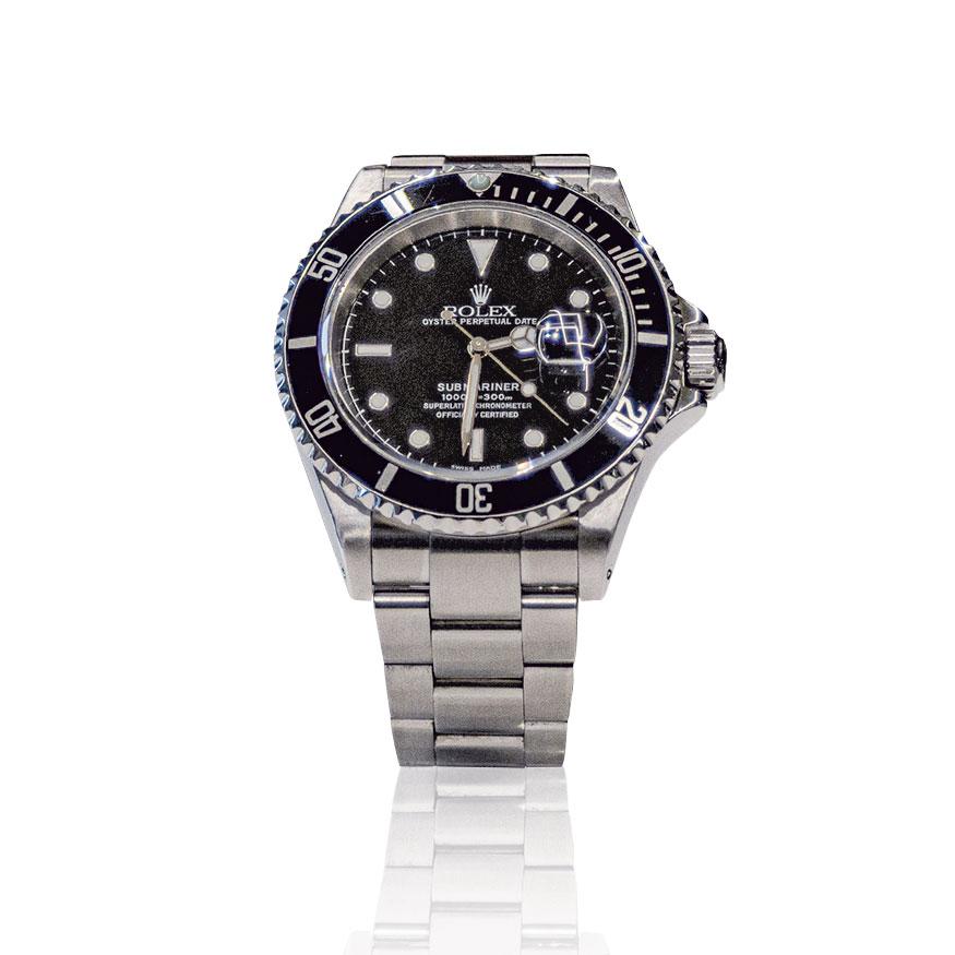 Rolex secondo polso - Rolex Submariner date nero
