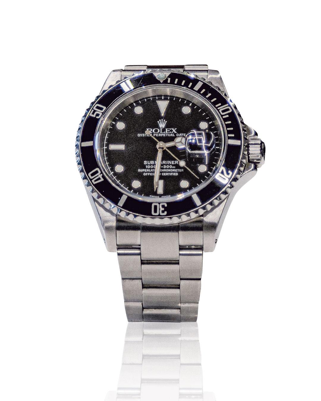 Rolex Submariner date nero