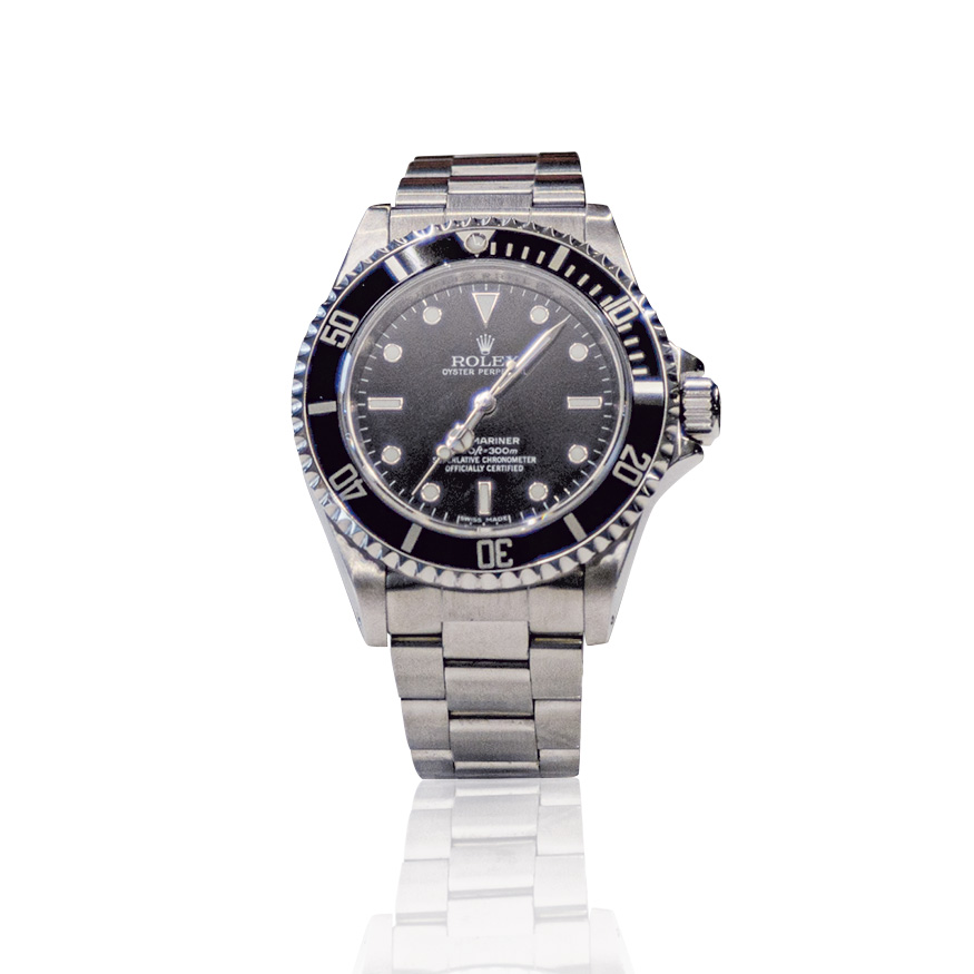 Rolex Submariner nero, secondo polso